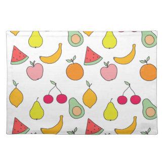 fruit patroon placemat