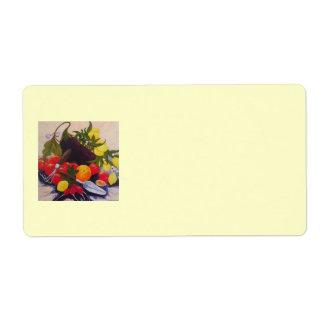 Fruit & Plantaardig Verschepend Etiket