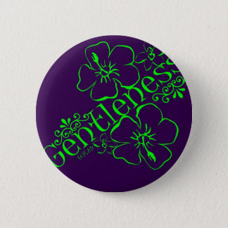 Fruit van de Geest: Zachtheid Ronde Button 5,7 Cm
