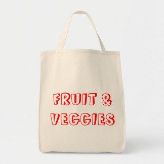 Fruit & Veggies Draagtas