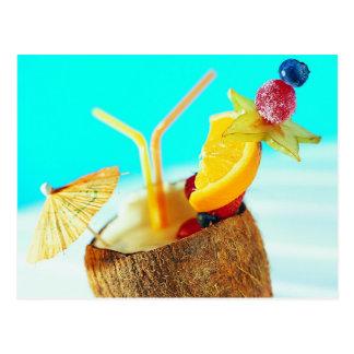 Fruitig Eiland Refreshement Briefkaart
