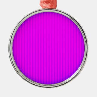 Fuchsiakleurig LEIDENE lamp Zilverkleurig Rond Ornament
