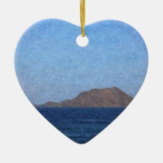 Fuerteventura Keramisch Hart Ornament
