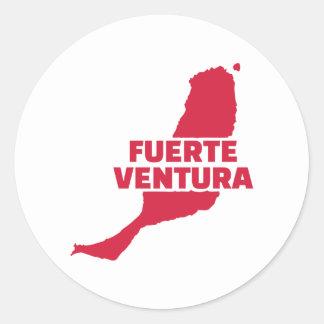 Fuerteventura Ronde Sticker