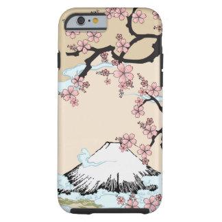 Fuji en Sakura - Japanse iPhone 6 van het Ontwerp  Tough iPhone 6 Hoesje
