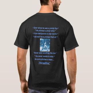 Fundamenteel Donker Hoefijzer het Werpen T-shirt