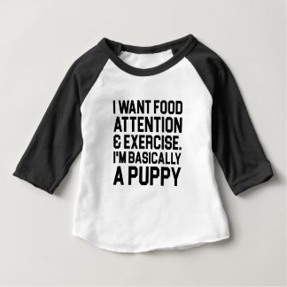 Fundamenteel een Puppy Baby T Shirts