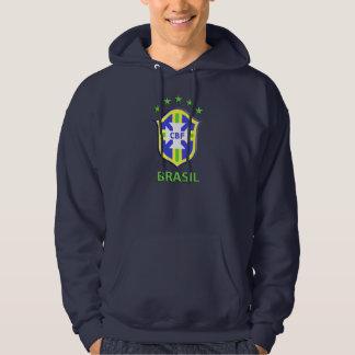 Fundamenteel Sweatshirt Met een kap, Marineblauwe