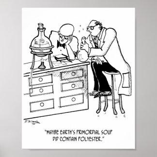 Fundamentele Cartoon 9477 van de Soep Poster