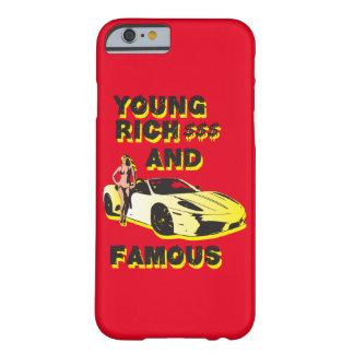 funky dekking van citaten jonge rijke & beroemde barely there iPhone 6 hoesje
