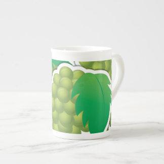 Funky groene druiven teekop