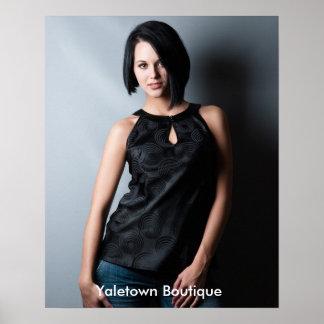 Funky Jonge Poster van de Boutique van de Mode van