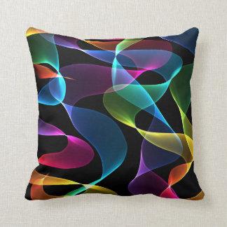 Funky regenboog Abstracte kleur Sierkussen