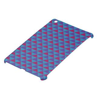 Funky Retro Paars Ontwerp -/Blauw iPad Mini Covers