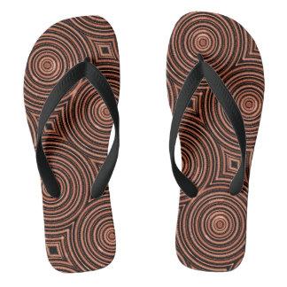 Funky sandals teenslippers