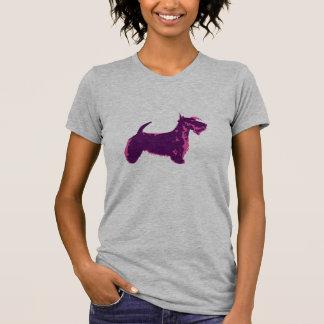Funky Schotse Pop-art van Terrier T Shirt