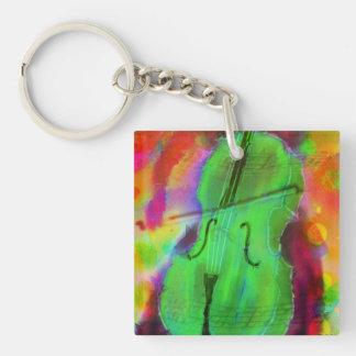 Funky Zeer belangrijke Ketting van de Cello Sleutelhanger