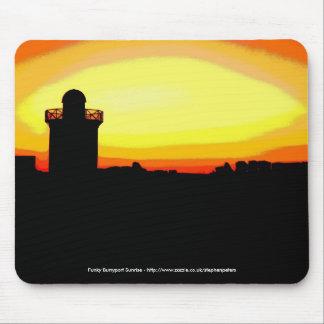 Funky zonsopgang Burryport Muismatten