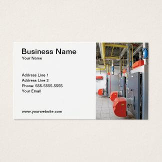 Furnace Repair Company Visitekaartje Visitekaartjes