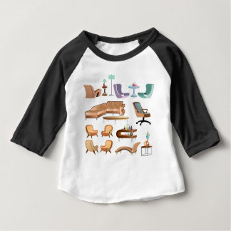 Furniture_Set_Collection Baby T Shirts
