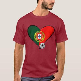 Futebol Brazilië 2014 Portugal Brazilië Copo do T Shirt