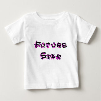 future_star_pink baby t shirts