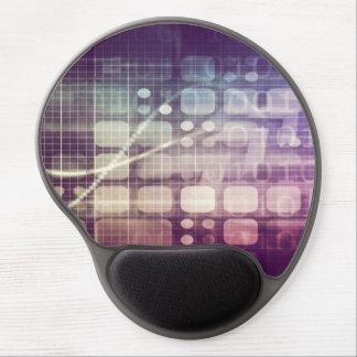 Futuristisch Abstract Concept op Technologie Gel Muismat