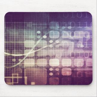 Futuristisch Abstract Concept op Technologie Muismat