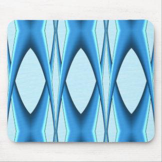 Futuristische Blauwe Boog Muismat
