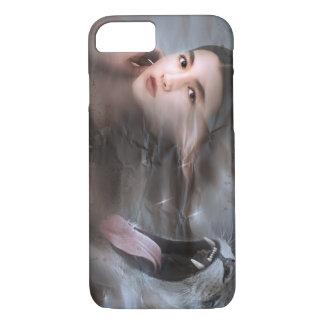 Futuristische Kat iPhone 8/7 Hoesje