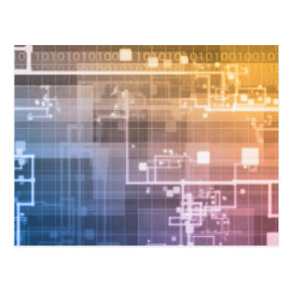 Futuristische Technologie als Art. van de Volgende Briefkaart