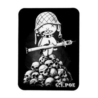G.I. Poe - een Echte Held van de Zombie - Magneet