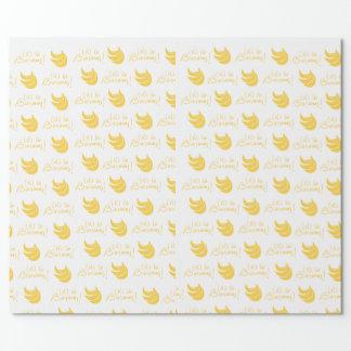 Ga Bananen! Verpakkend Document Inpakpapier