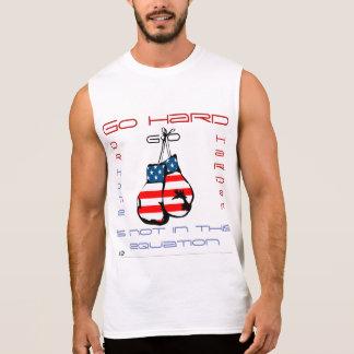 Ga de hardere Sleeveless In dozen doende T-shirt