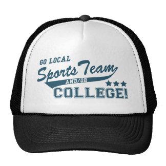 Ga de het Lokale Team en of Universiteit van Sport Mesh Petten