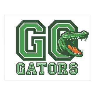 Ga Gators Briefkaart