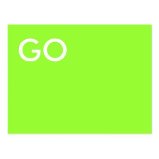 GA Groen Briefkaart