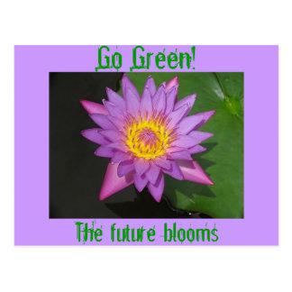 Ga Groen! De toekomstige bloei Briefkaart