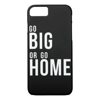 Ga Groot of ga Zwart-wit naar huis iPhone 8/7 Hoesje