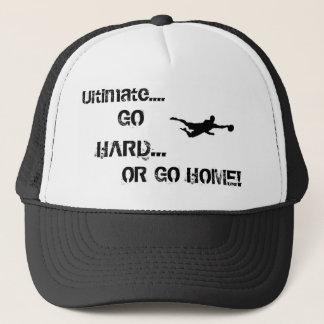 Ga hard of ga naar huis trucker pet