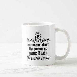 Ga Krankzinnig over de Macht van Uw Hersenen Koffiemok