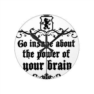 Ga Krankzinnig over de Macht van Uw Hersenen Ronde Klok