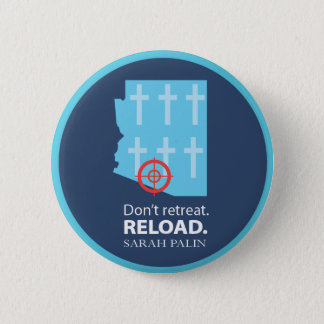 Ga niet terug; in plaats daarvan, spi hebben ronde button 5,7 cm