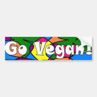 Ga Veganist Bumpersticker