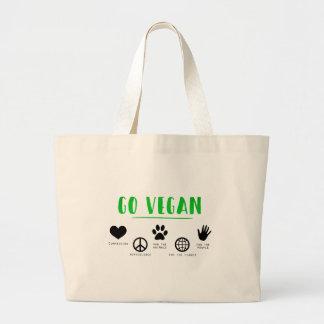 Ga Veganist Grote Draagtas