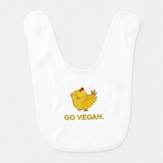 Ga Veganist - Leuk Kuiken Baby Slabbetje
