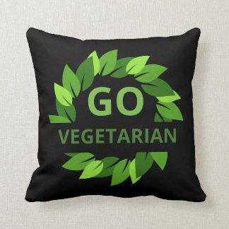 Ga Vegetarisch, Veganist, de Groene Zwarte van Sierkussen
