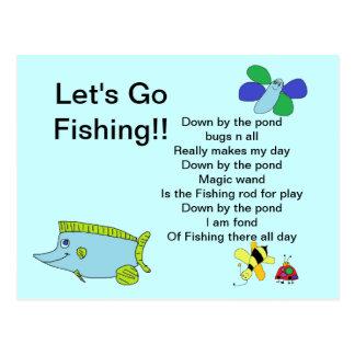 Ga vissend Kaart met Gedicht