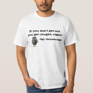 Ga weg of word gevangen! t shirt