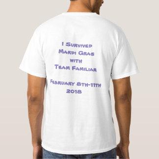 Gaan-GA de T-shirt van het Mannen van Mardi Gras